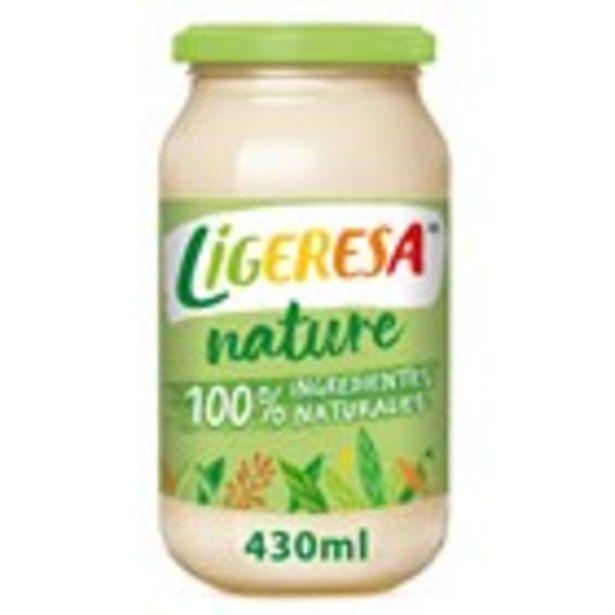 Oferta de Salsa fina 100% natural LIGERESA, flascó 430 ml por 1,69€