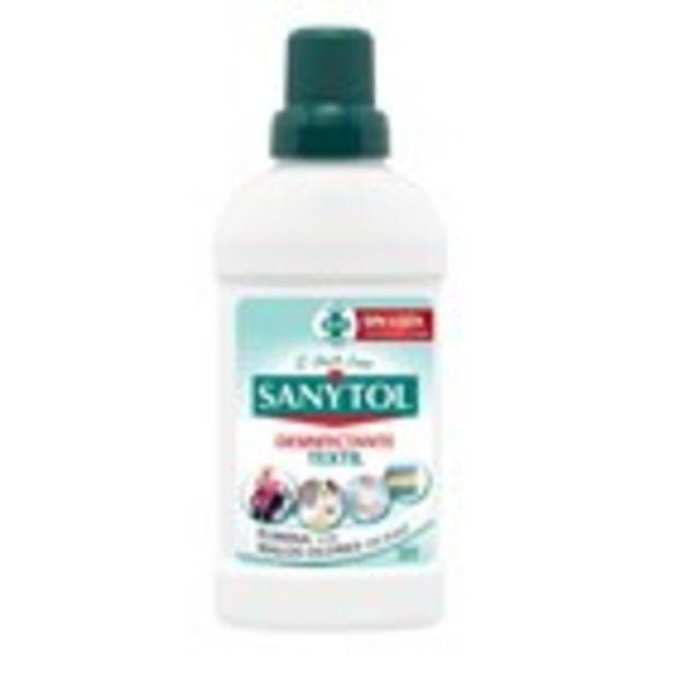 Oferta de Aditiu desinfectant tèxtil SANYTOL, 500 ml por 2,29€