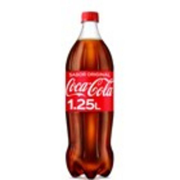 Oferta de Refresc de cola COCA-COLA, ampolla 1,25 litre por 1,23€