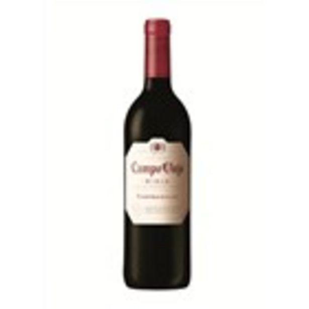 Oferta de Vi negre CAMPO VIEJO Tempranillo, ampolla 75 cl. por 3,45€