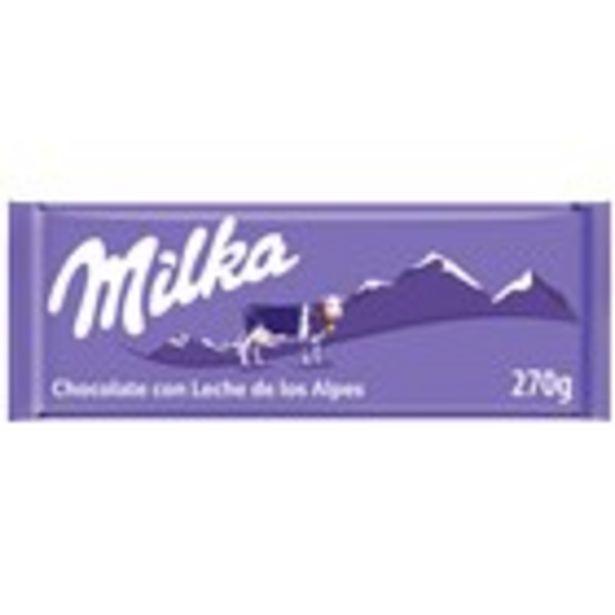 Oferta de Xocolata amb llet MILKA, 270 grams por 1,69€