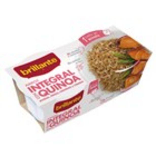 Oferta de Arròs integral quinoa BRILLANTE, 2 unitats 250 grams por 1,09€