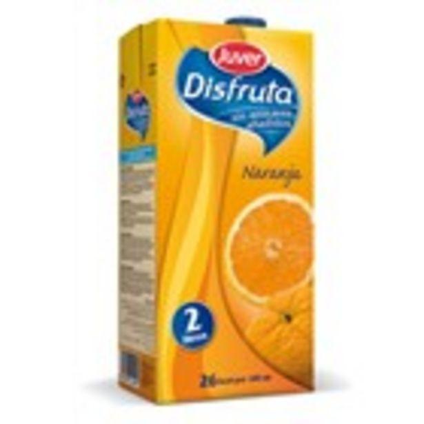 Oferta de Nèctar de taronja JUVER disfruta, bric 2 litres por 2,29€