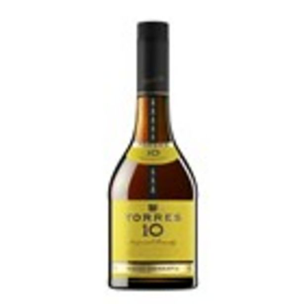 Oferta de Brandi TORRES 10 anys, ampolla 70 cl. por 10,99€