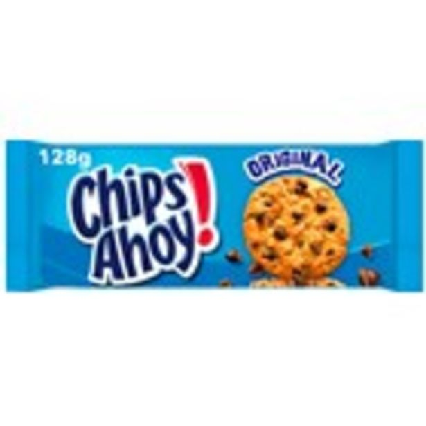 Oferta de Galetes de xocolata CHIPS AHOY, paquet 128 grams por 1,39€