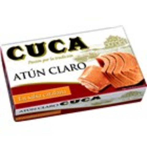 Oferta de Tonyina clara en salsa catalana CUCA, llauna 81 grams por 1,75€