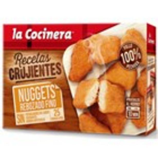 Oferta de Nuggets arrebossat fi LA COCINERA, paquet 400 grams por 2,92€