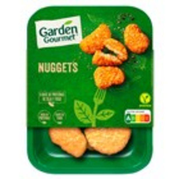 Oferta de Nuggets vegetarians GARDEN GOURMET, safata 200 grams por 2,62€