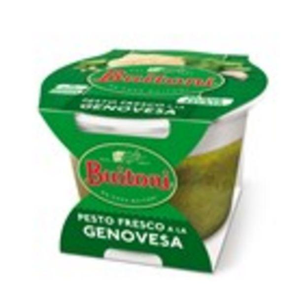Oferta de Salsa fresca pesto a la genovesa BUITONI, terrina 130 grams por 1,85€