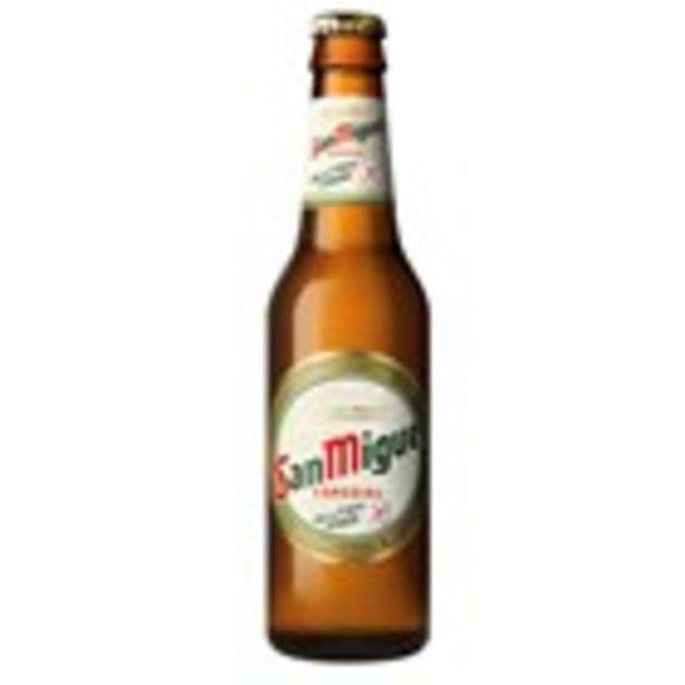 Oferta de Cervesa sense gluten SAN MIGUEL, ampolla 33 cl por 0,61€