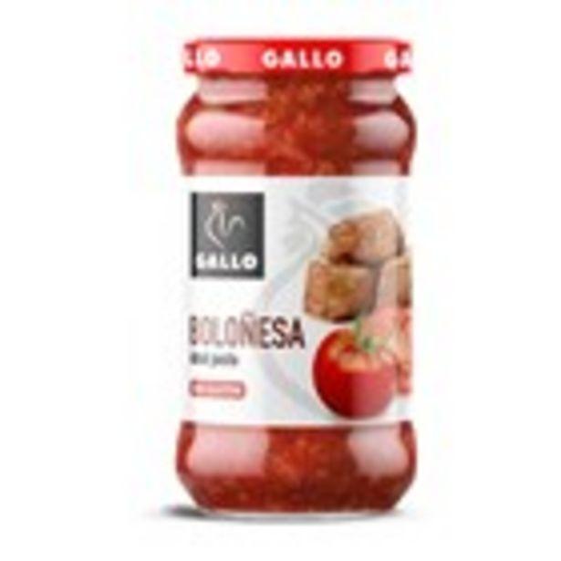 Oferta de Salsa bolonyesa GALLO, 350 grams por 1,59€