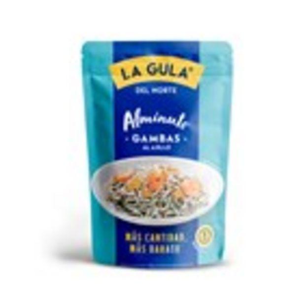 Oferta de Gula fresca amb gambes LA GULA DEL NORTE, 110 grams por 2,61€