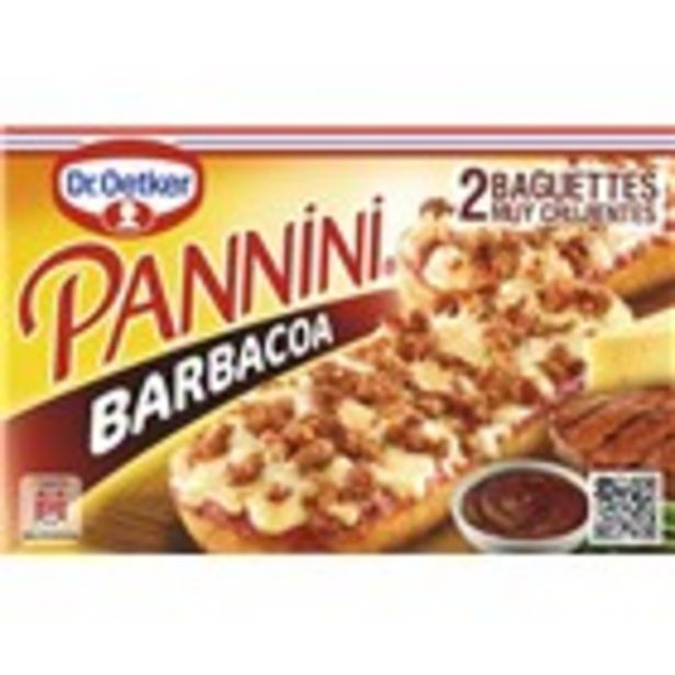 Oferta de Pannini barbacoa DR. OETKER, paquet 250 grams por 2,14€