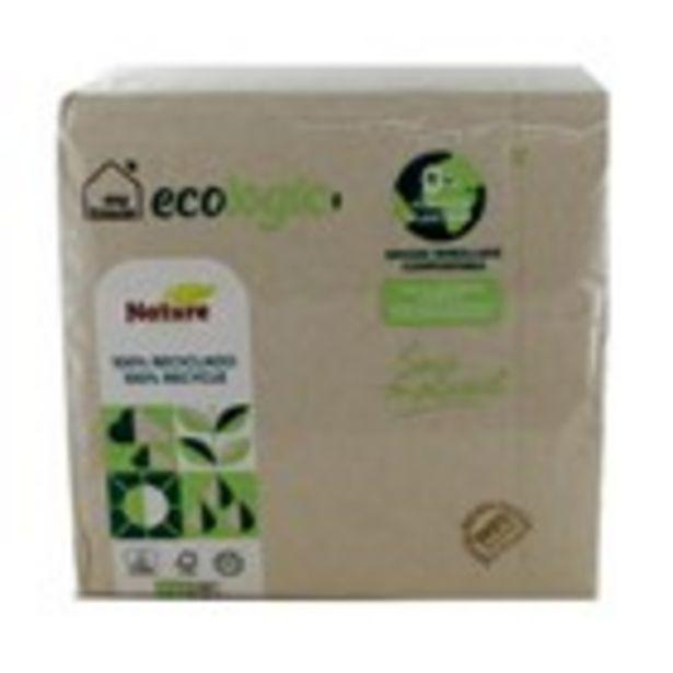 Oferta de Tovalló ecològic 33x32 MY TISSUE, 50 unitats por 0,89€