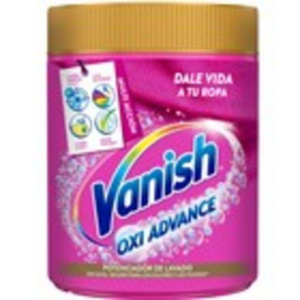 Oferta de Llevataques oxi advance en pols VANISH, 400 grams por 4,99€