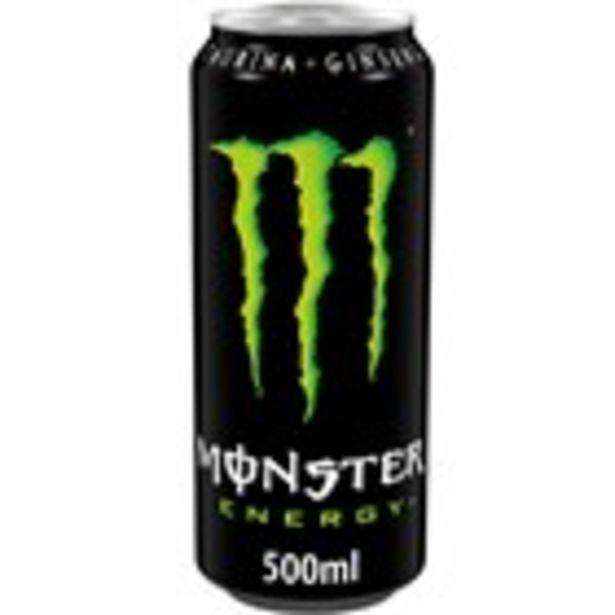 Oferta de Beguda energètica MONSTER, llauna 500 ml. por 1,25€