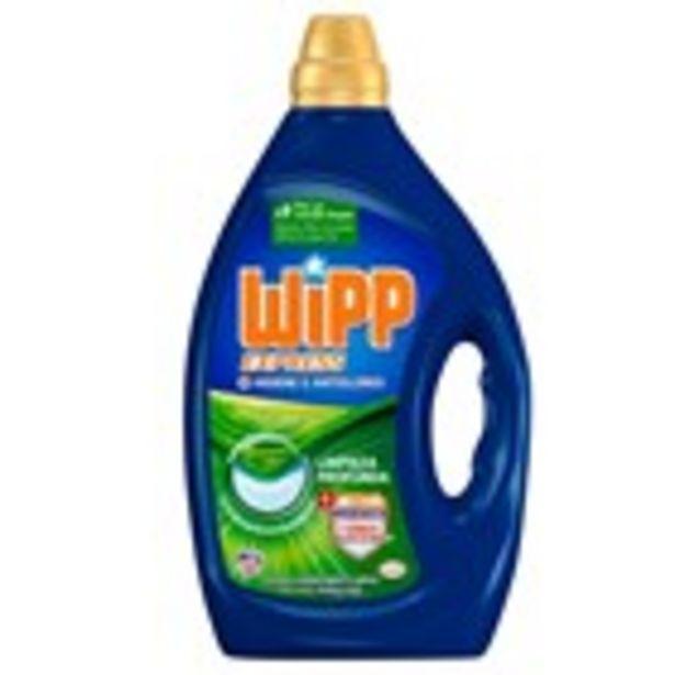 Oferta de Detergent gel antiolors WIPP, 40 dosis 2 ltrs. por 8,79€