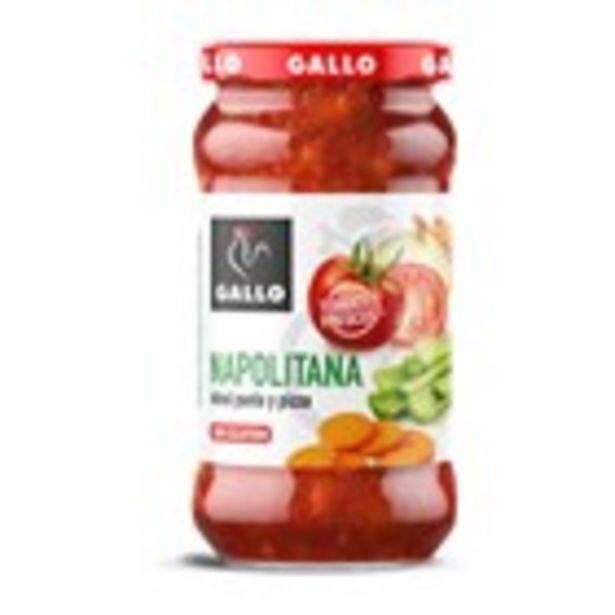 Oferta de Salsa napolitana GALLO, 350 grams por 1,59€