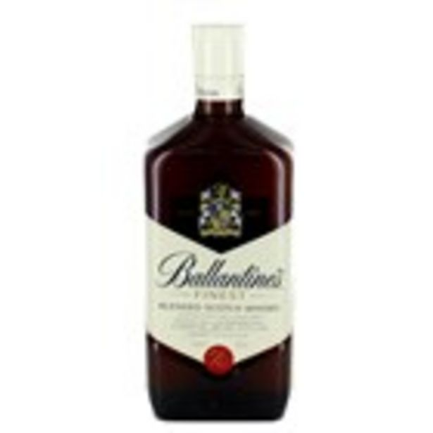 Oferta de Whisky BALLANTINE'S, ampolla 1l por 14,99€