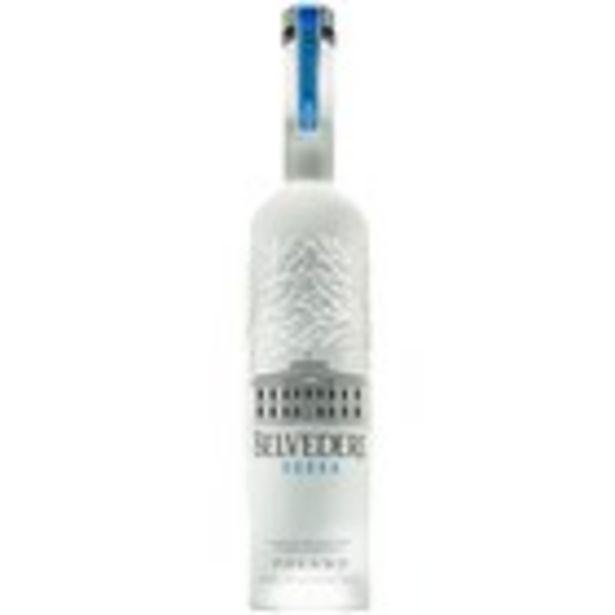 Oferta de Vodka premium BELVEDERE, 70 cl por 29,95€
