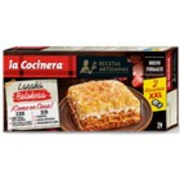 Oferta de Lasanya bolonyesa LA COCINERA, paquet 530 grams por 3,07€