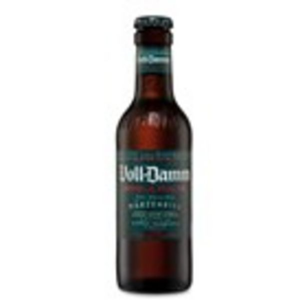 Oferta de Cervesa VOLL-DAMM, ampolla 25 cl por 0,6€