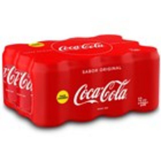 Oferta de Refresc de cola COCA-COLA, pack 12 llaunes 33 cl. por 8,64€