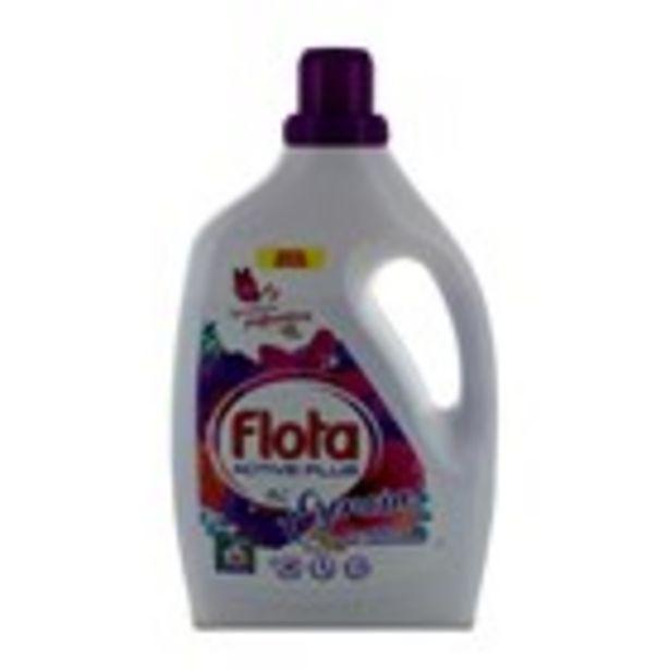 Oferta de Detergent gel active plus FLOTA, 36 dosis 1.98L por 2,99€