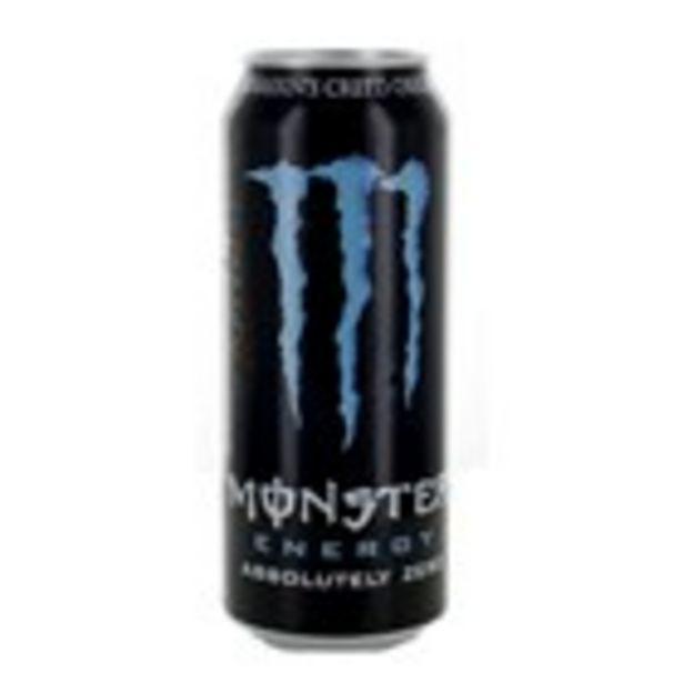 Oferta de Beguda absolutely Zero MONSTER, llauna 500 ml por 1,15€