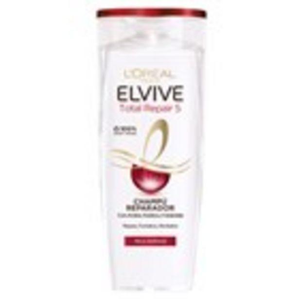 Oferta de Xampú total repair ELVIVE, 370 ml por 2,45€