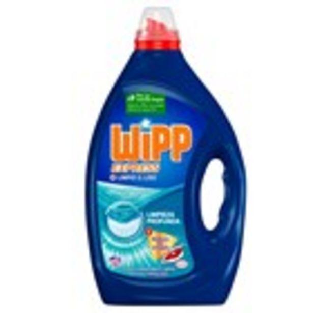 Oferta de Detergent gel net i llis WIPP 40 mesures, 2 litres por 8,79€