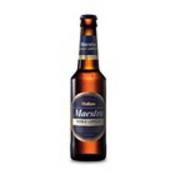 Oferta de Cervesa Maestra MAHOU, ampolla 33 cl por 1€