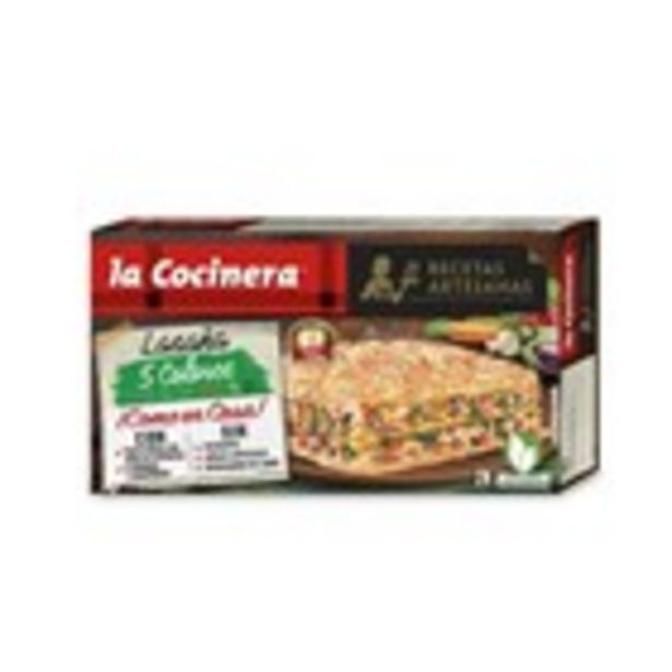 Oferta de Lasanya de verdures LA COCINERA, 500 grams por 3,07€