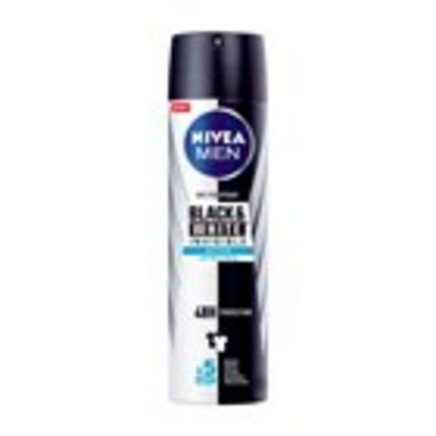 Oferta de Desodorant black&white men NIVEA, esprai 200 ml por 1,99€
