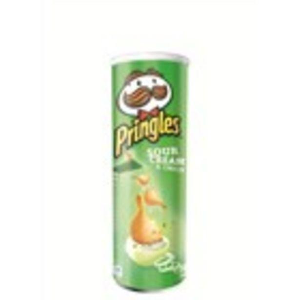 Oferta de Patates fregides PRINGLES Sour Cream & Onion, paquet 165 grs por 1,3€