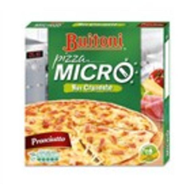 Oferta de Pizza pernil i formatge BUITONI micro, paquet 315 grams por 2,69€
