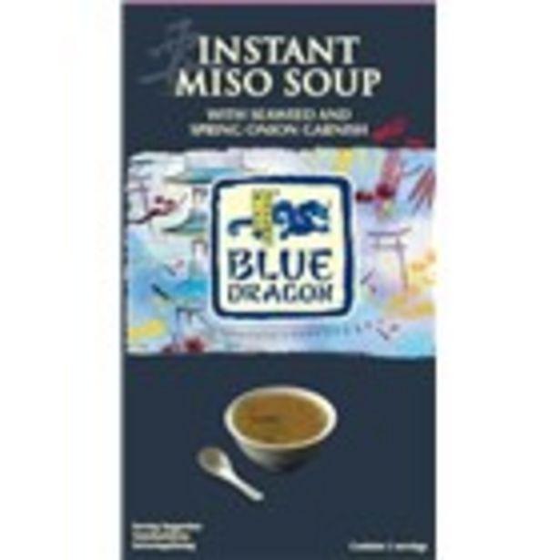 Oferta de Sopa miso BLUE DRAGON, paquet 92.5 grams por 2,39€