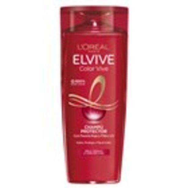 Oferta de Xampú color vive ELVIVE, 370 ml por 2,45€