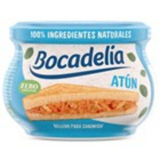 Oferta de Farcit de sandwich de tonyina BOCADELIA, envàs 180 grams por 1,99€