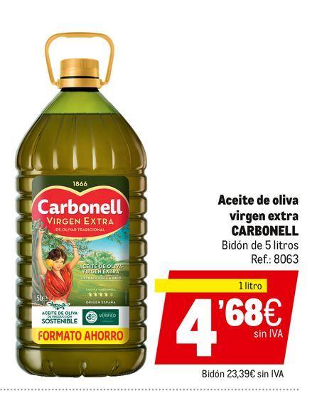 Oferta de Aceite de oliva virgen extra Carbonell por 4,68€