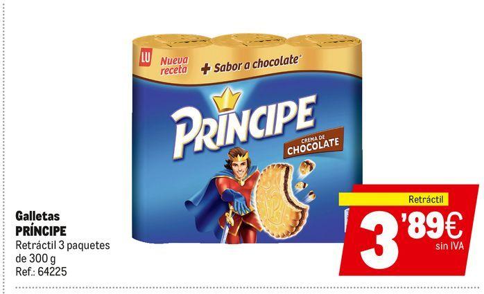 Oferta de Galletas Príncipe Lu por 3,89€