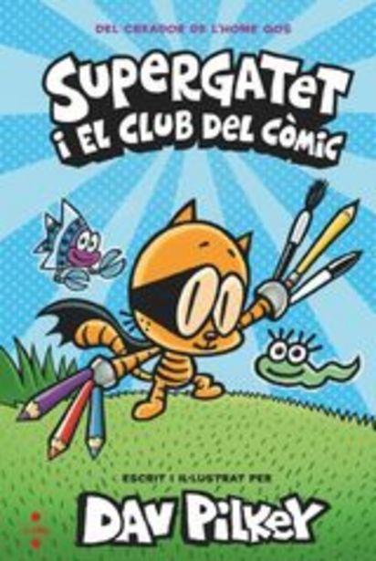 Oferta de Pilkey, Dav Supergatet i el club del còmic por 12,5€