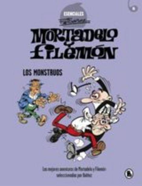 Oferta de Ibáñez, Francisco Mortadelo y Filemón. Los monstruos (Esenciales Ibáñez) por 11,9€