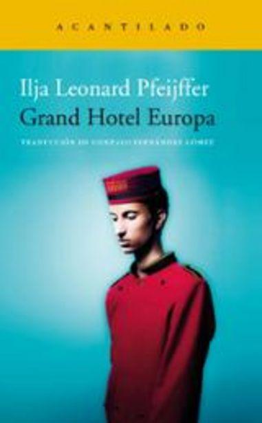 Oferta de Pfeijffer, Ilja Leonard Grand Hotel Europa por 32€
