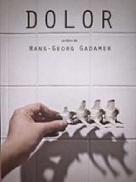 Oferta de Gadamer, Hans-Georg Dolor. Consideraciones desde una visión médica, filosófica y terapéutica por 9€