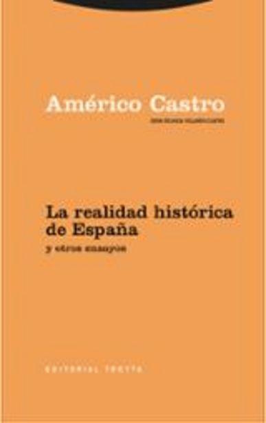 Oferta de Castro, Américo La realidad histórica de España y otros ensayos por 44€