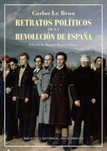 Oferta de Le Brun, Carlos Retratos políticos de la revolución de España por 34,9€