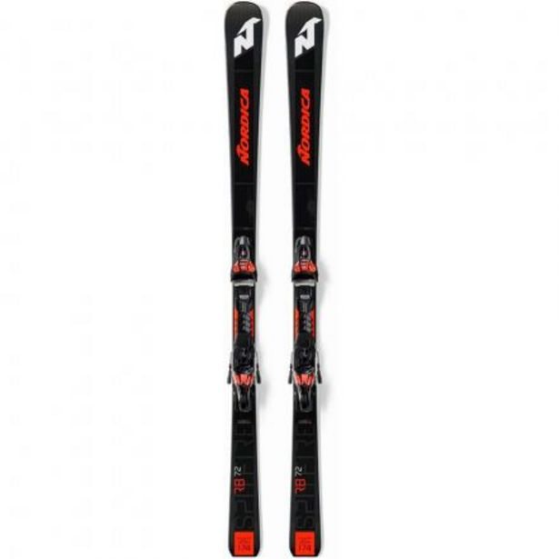 Oferta de Esqui Pack Dob.Spitf.72 Rb Fdt-Xcell12Fd por 559,99€