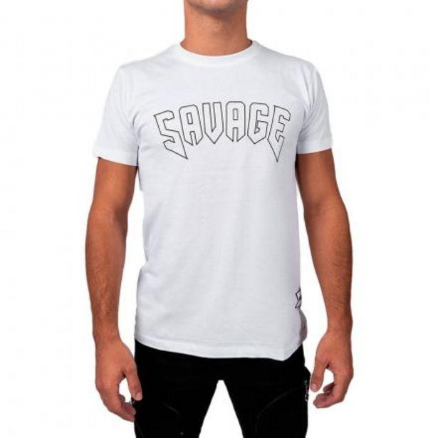 Oferta de Camiseta de hombre con letras grandes por 19,99€
