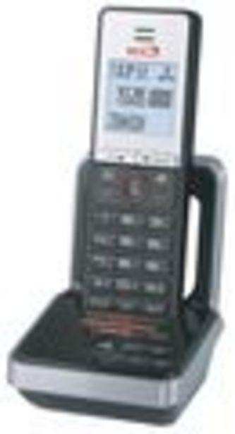 """Oferta de Telefono inalambrico single Fersay-Dec t 1010, color negro y plateado, Pantalla 1,9""""32x30mm, incluye... por 27€"""